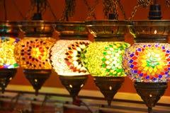 turkiska lampor Royaltyfri Fotografi
