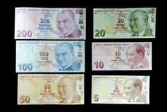 turkiska liras Arkivbild