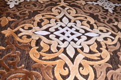 Turkiska mattdesigner Arkivbilder