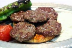 Turkiska meatballs Arkivbild