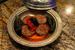 Turkiska meatballs Arkivbilder