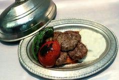 Turkiska meatballs Royaltyfri Bild