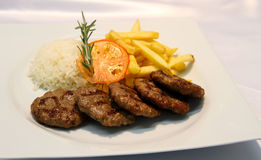 Turkiska meatballs Royaltyfri Fotografi