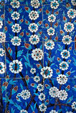 Turkiska ottomantegelplattor Arkivfoto