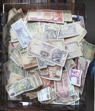 Turkiska pappers- pengar eller valuta Royaltyfria Bilder