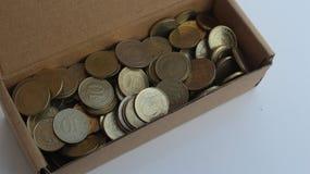 Turkiska pengar Royaltyfria Foton