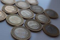 Turkiska pengar Arkivbilder