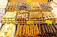 Turkiska sötsaker Arkivbilder
