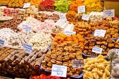 Turkiska sötsaker Arkivbild