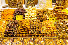 Turkiska sötsaker Fotografering för Bildbyråer