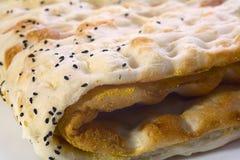Turkiskt bröd Arkivbilder