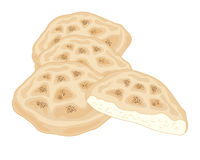 Turkiskt bröd Royaltyfria Bilder