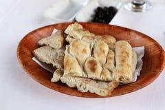 Turkiskt bröd Royaltyfri Bild