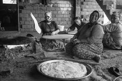 Turkiskt byliv Fotografering för Bildbyråer