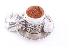 Turkiskt kaffe royaltyfria foton