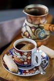 Turkiskt kaffe Arkivbild