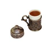 Turkiskt kaffe royaltyfri bild