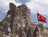 Turkiskt slott Arkivbild