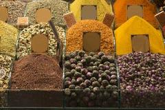 Turkiskt te på marknaden Royaltyfri Foto
