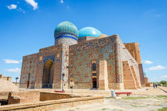 Turkistan-Mausoleum, Kasachstan Lizenzfreie Stockfotos