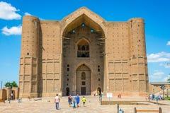 Turkistan mausoleum, Kazakhstan Stock Images
