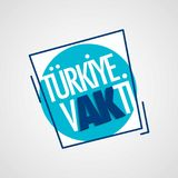 Turkiye vakti Turcja timesolated płaska ikona Fotografia Stock