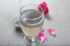 Turkmaria, розовые семена Sharbat Базилик, розовые семена Sharbat, базилик, розовые семена Sharbat стоковая фотография rf