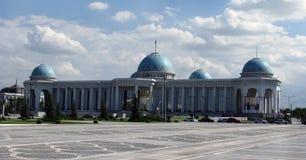 Turkmenistan, Ashgabat -, Medjlis parlament pałac obrazy stock