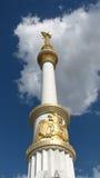 Turkmenistan - Ashgabat, museum Arkivbild