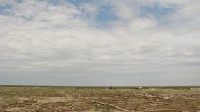 Turkmenistan-Besichtigungen - GONUR-Depe lizenzfreies stockbild