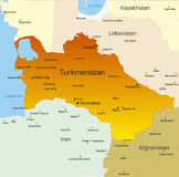 Turkmenistan country royalty free stock image