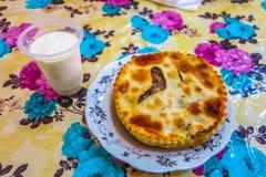 Turkmenistan Cuisine Fitchi stock images