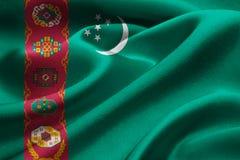 Turkmenistan flag Stock Images