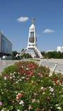 Turkmenistan - Monumente und Gebäude von Aschgabat Lizenzfreie Stockfotos