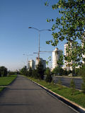 Turkmenistan - Monumenten en gebouwen van Ashgabat Royalty-vrije Stock Afbeelding