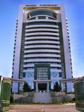 Turkmenistan - Monumenten en gebouwen van Ashgabat royalty-vrije stock foto's