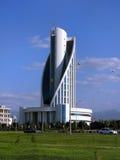 Turkmenistan - Monumenten en gebouwen van Ashgabat Royalty-vrije Stock Afbeeldingen