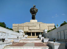 Turkmenistan - Monuments and buildings of Ashgabat Stock Image