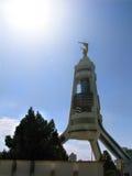 Turkmenistan - Monuments and buildings of Ashgabat. White palaces of Ashgabat capital Royalty Free Stock Images