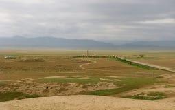 Turkmenistan sightseengs - Meana Kuchen Lizenzfreies Stockfoto