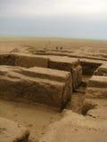 Turkmenistan sightseengs - wensboom bij ULUG Depe royalty-vrije stock afbeelding