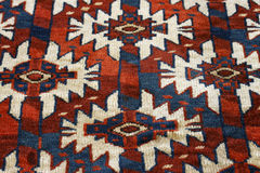 Turkomen rug Stock Images