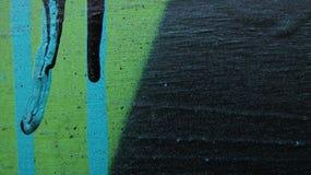 turkoois, groen en zwart Stock Foto