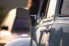 Turkoois of groen Volkswagen Beetle-Close-up Royalty-vrije Stock Afbeeldingen
