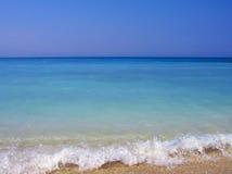 Turkoois strand stock foto's