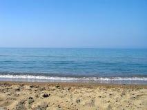 Turkoois strand royalty-vrije stock foto's