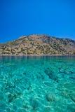 Turkoois van het Middellandse-Zeegebied royalty-vrije stock fotografie