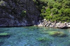 Turkoois water Royalty-vrije Stock Afbeeldingen
