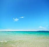 Turkoois water Stock Foto