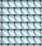 Turkooise achtergrond met driehoeken Stock Fotografie